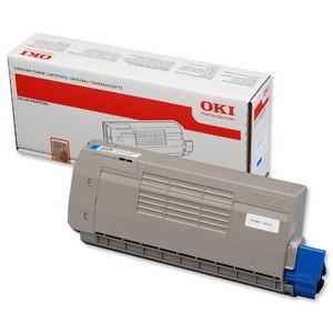 Cartouche laser OKI couleur Cyan 44318607