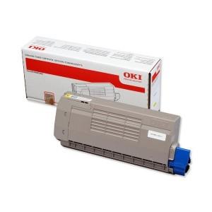 Cartouche laser OKI couleur jaune  44318605