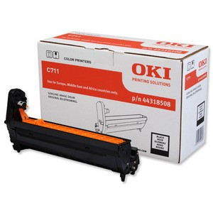 Tambour laser noire Oki 44318508