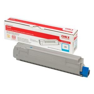 Cartouche laser oki Cyan 43487711
