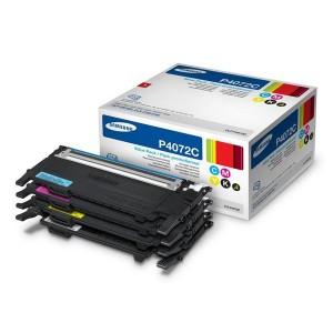 Pack de 4 Cartouches  Laser  Samsung 4072S Noire et couleur