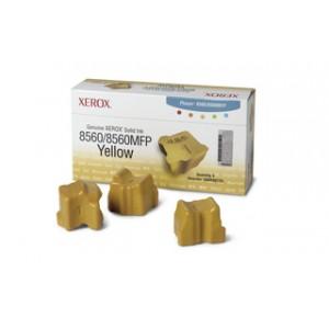 Pack de 3 encres solide Xerox 108R00725 jaune