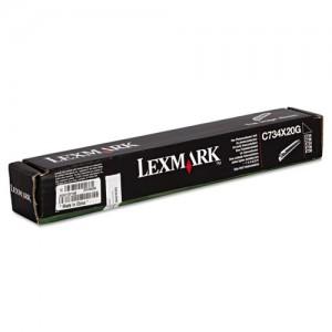 Tambour Lexmark C734X20G noire - 20 000 pages