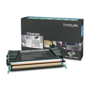 Cartouche de toner Lexmark C734A1KG noire