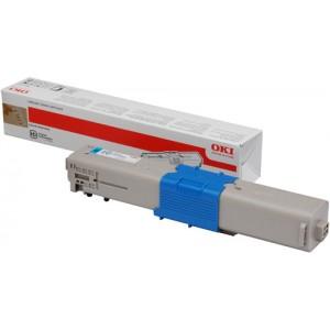Toner laser Oki cyan 44973535 - 1500 pages
