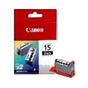 Pack de 2 Cartouches encre Canon BCI 15 Noire