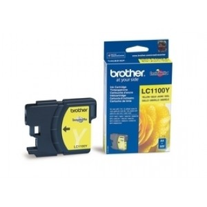 Cartouche encre Brother LC1100Y Jaune