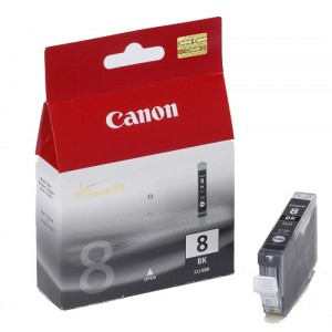 Cartouche encre Canon CLI 8 BK Noire