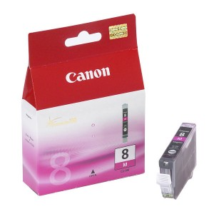 Cartouche encre Canon CLI 8M Magenta