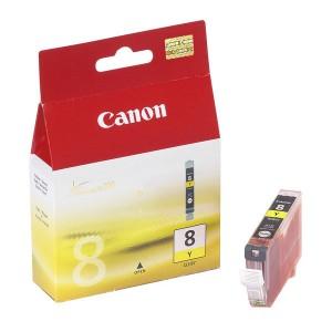 cartouche encre Canon CLI 8Y Jaune