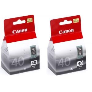 Lot de 2 Cartouches encre Canon PG 40 noire