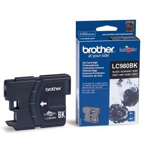 Cartouche encre Brother LC980BK Noire