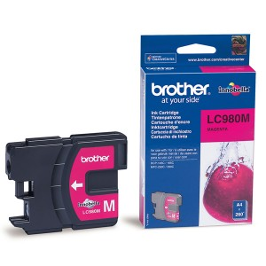 Cartouche encre Brother LC980M Magenta