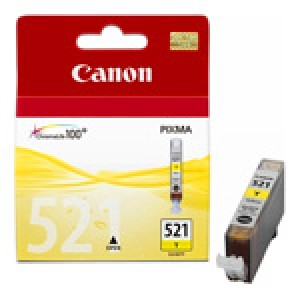 Cartouche encre Canon CLI 521 Jaune