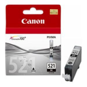 Cartouche encre Canon CLI 521 Noire Photo