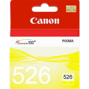 Cartouche encre Canon CLI-526 Jaune