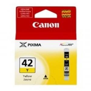 Cartouche encre Canon CLI-42Y jaune