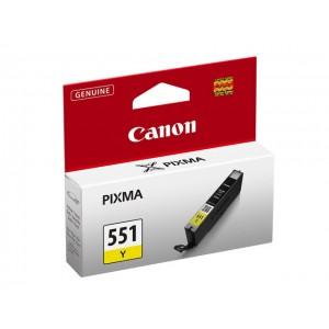 Cartouche encre Canon CLI-551Y jaune