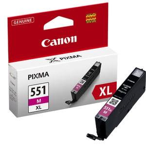 Cartouche encre Canon CLI-551M XL magenta