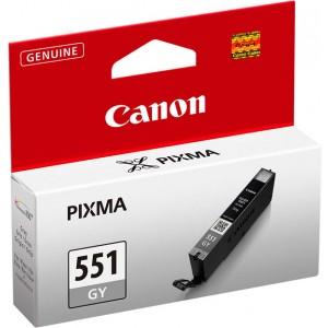 Cartouche encre Canon CLI-551GY gris