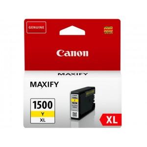 Cartouche encre canon PGI1500XLY jaune