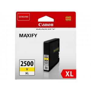 Cartouche encre canon PGI2500XL Y jaune
