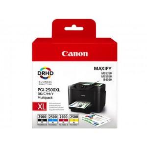 Pack de 4 Cartouches encre canon PGI2500XL