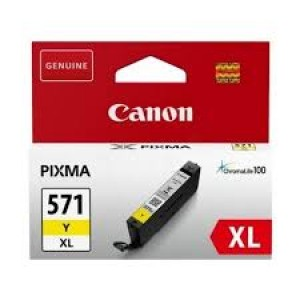 Cartouche encre Canon CLI-571XL jaune