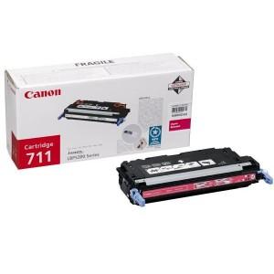 Toner laser Canon 711 couleur Magenta