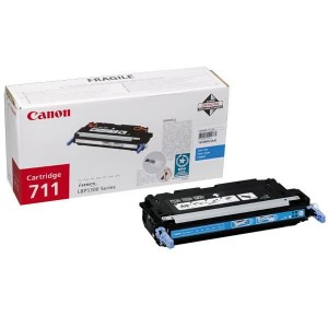 Toner laser Canon 711 couleur Cyan