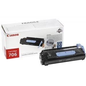 Cartouche Laser Canon EP 706 noire