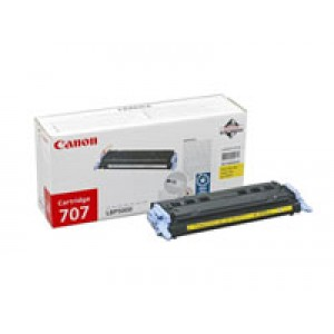 Cartouche Laser CANON EP 707 jaune