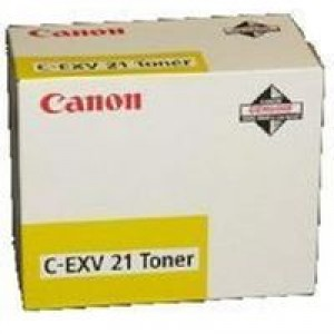 Cartouche laser Canon C-EXV21 jaune