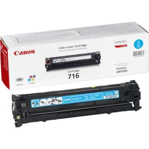 Toner laser Canon 716C Couleur Cyan