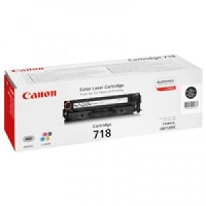 Cartouche laser CANON EP718BK