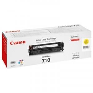 Cartouche laser CANON EP718Y