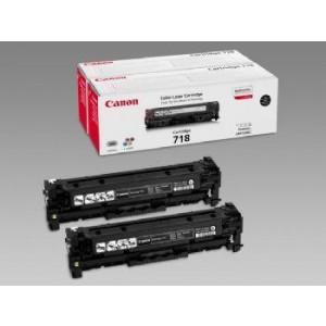 lot 2 Cartouches laser CANON EP718BK