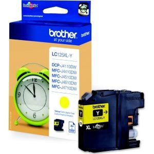 cartouche encre Brother LC125XL  jaune