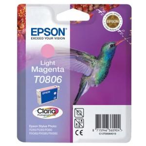 Cartouche encre Epson T0806 Magenta Clair