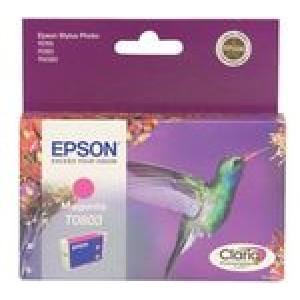 Cartouche encre Epson T0803 Magenta