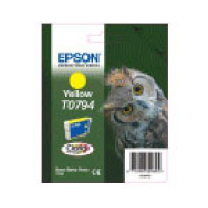 Cartouche encre Epson T0794 JAUNE