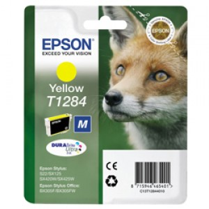 Cartouche encre Epson  T1284 Jaune