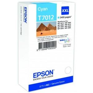Cartouche encre Cyan EPSON T7012 XXL