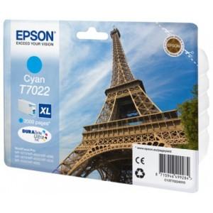 Cartouche encre EPSON T7022 XL  cyan