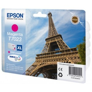 Cartouche encre EPSON T7023 XL  couleur Magenta