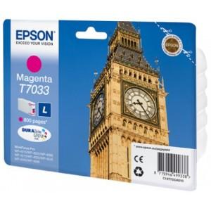 Cartouche encre couleur magenta EPSON T7033 L