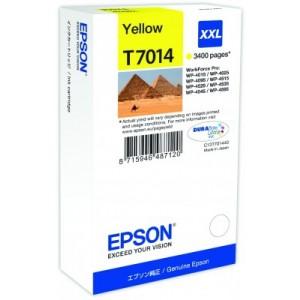 Cartouche encre jaune EPSON T7014 XXL