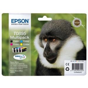 Pack de Cartouche encre Epson T0895 Noire et couleur