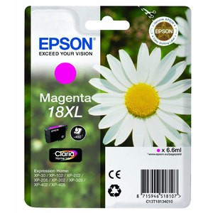 cartouche encre Epson T1813 xl magenta