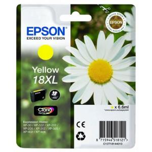 cartouche encre Epson T1814 xl  jaune